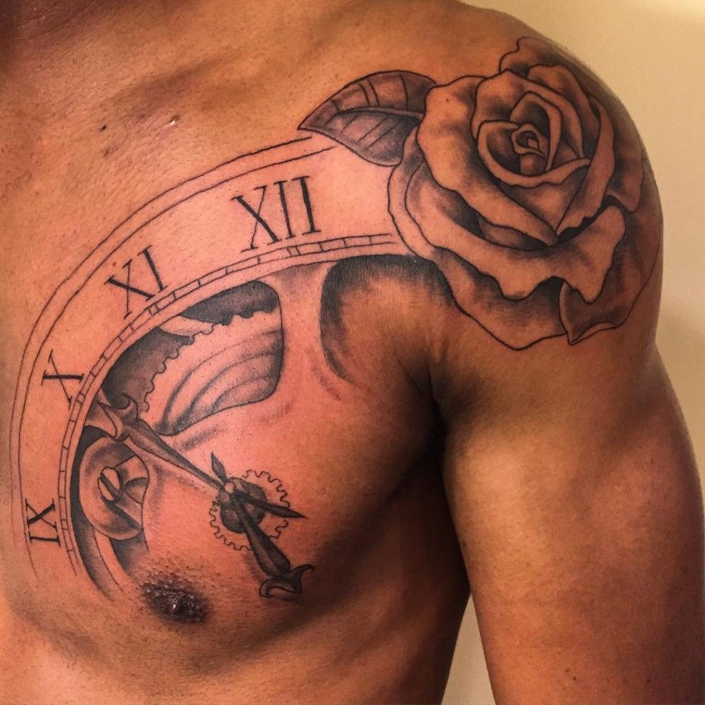 20 Shoulder Rose Tattoo Ideas For You To Try Tats Rose Tattoos regarding size 1024 X 1024