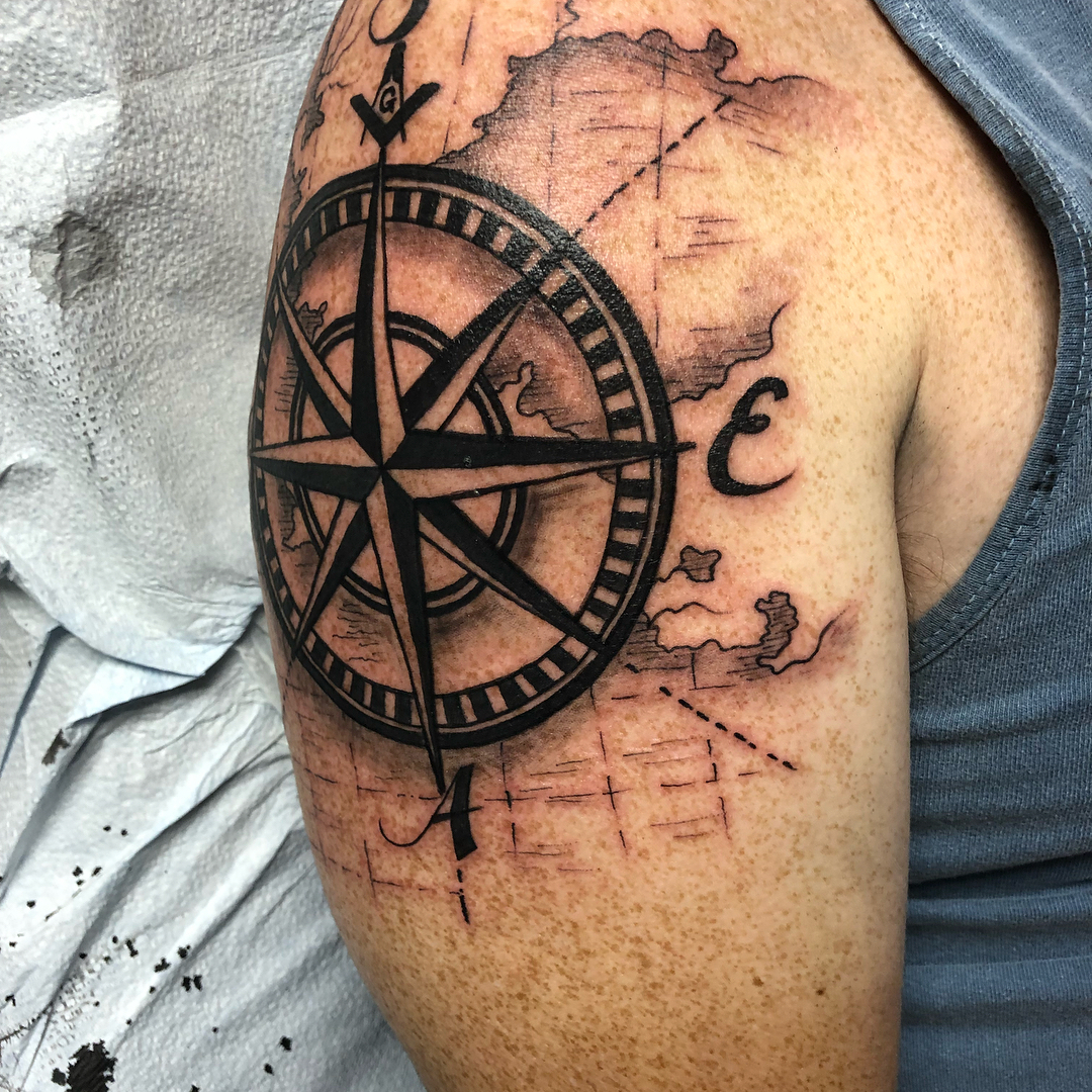 225 Coolest Shoulder Tattoos For Men And Women This Year throughout dimensions 1080 X 1080