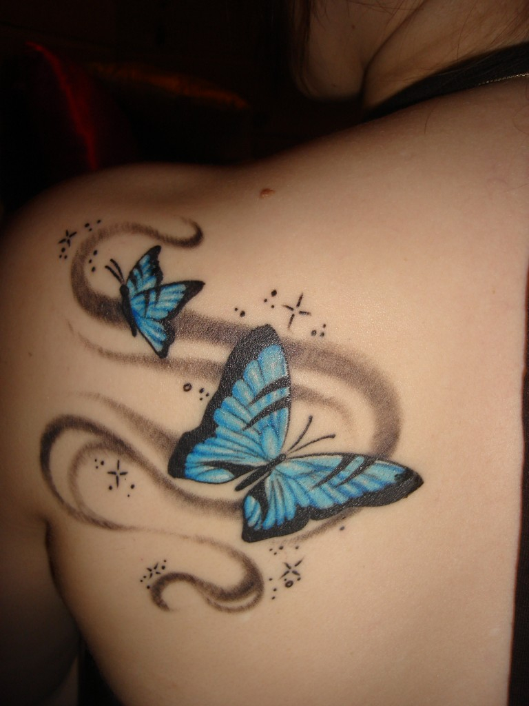 30 Best Shoulder Tattoo Designs For Girls intended for dimensions 768 X 1024