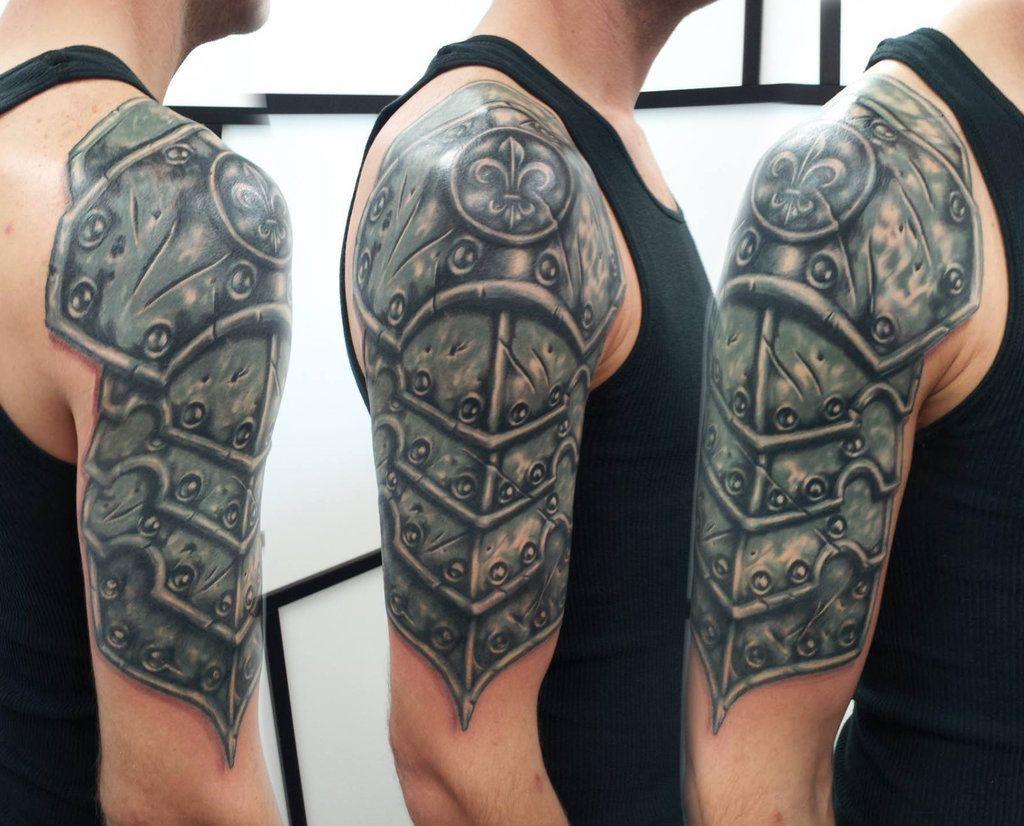 30 Medieval Armor Tattoos Ideas for measurements 1024 X 826