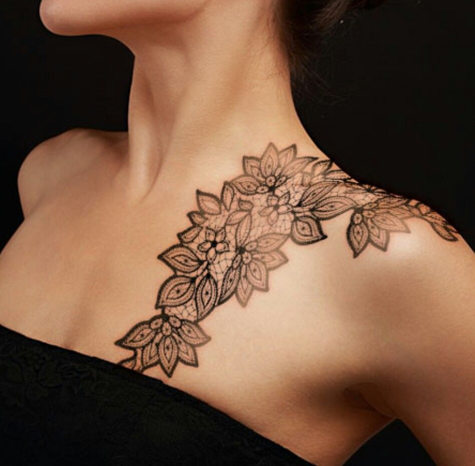 35 Of The Most Popular Shoulder Tattoo Ideas For Women Funmary regarding proportions 947 X 928