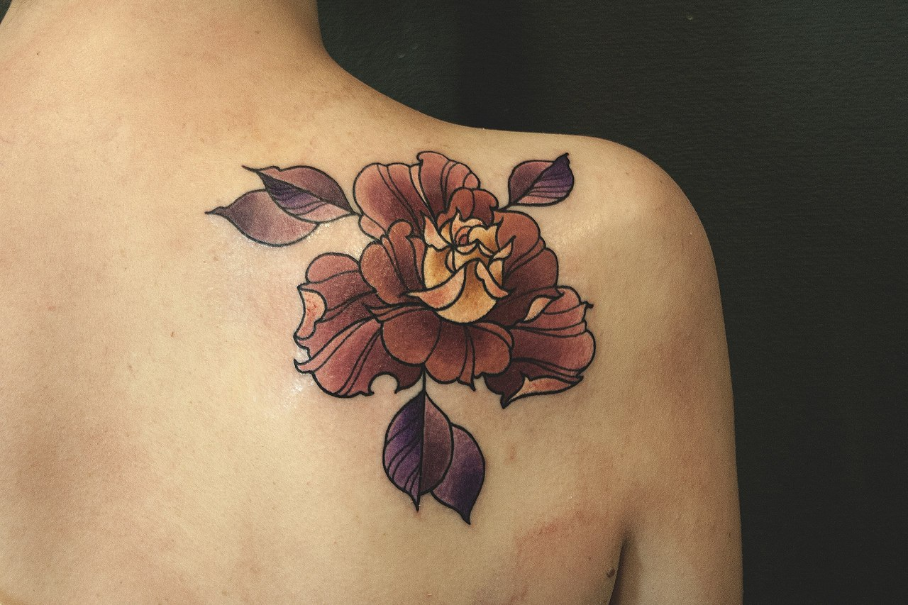 50 Shoulder Blade Tattoo Designs Meanings Best Ideas 2019 for size 1280 X 853