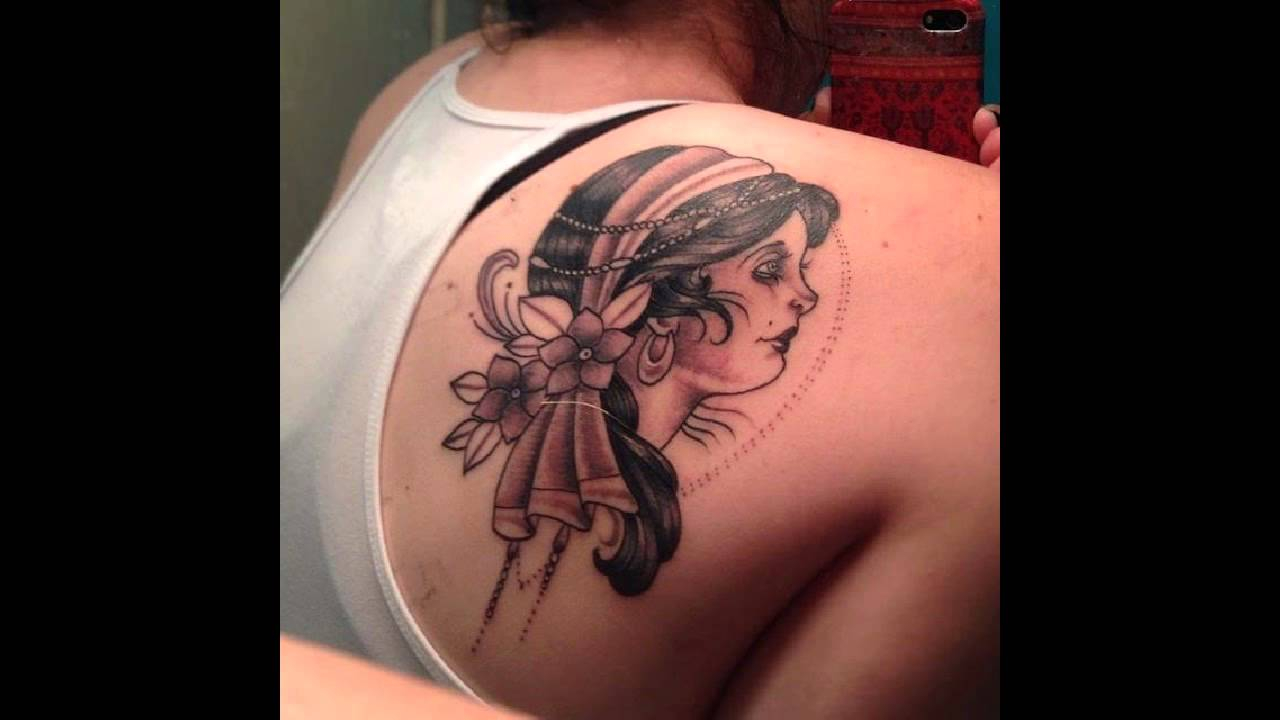 50 Shoulder Blade Tattoo Designs Meanings Best Ideas 2019 in size 1280 X 720