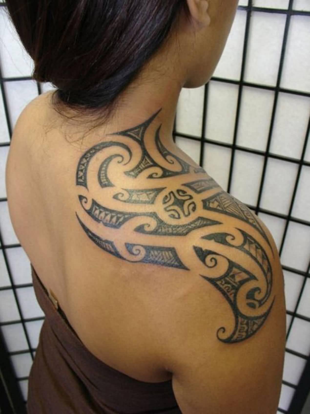 55 Best Tribal Tattoos For Women inside proportions 1270 X 1694