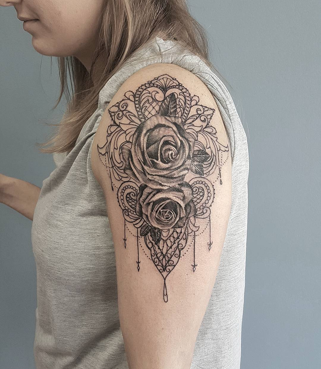 60 Best Lace Tattoo Designs Meanings Sexy And Stunning 2019 for measurements 1080 X 1242