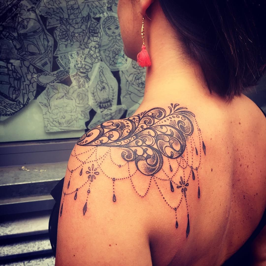 70 Luxurious Lace Tattoo Designs You Have Never Been This Pretty with size 1080 X 1080