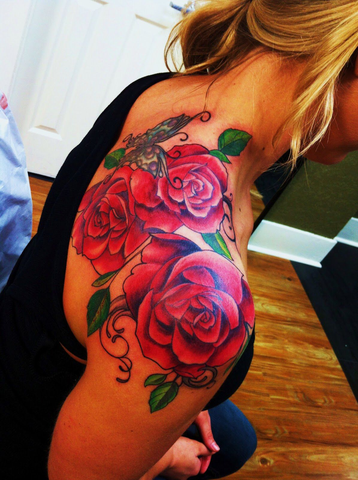 Beautiful Great Color Artist Did An Excellent Job Tattoos within proportions 1195 X 1600