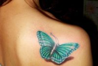Butterfly Shoulder Tattoo Tattoo Ideas 3d Butterfly Tattoo pertaining to dimensions 768 X 1024