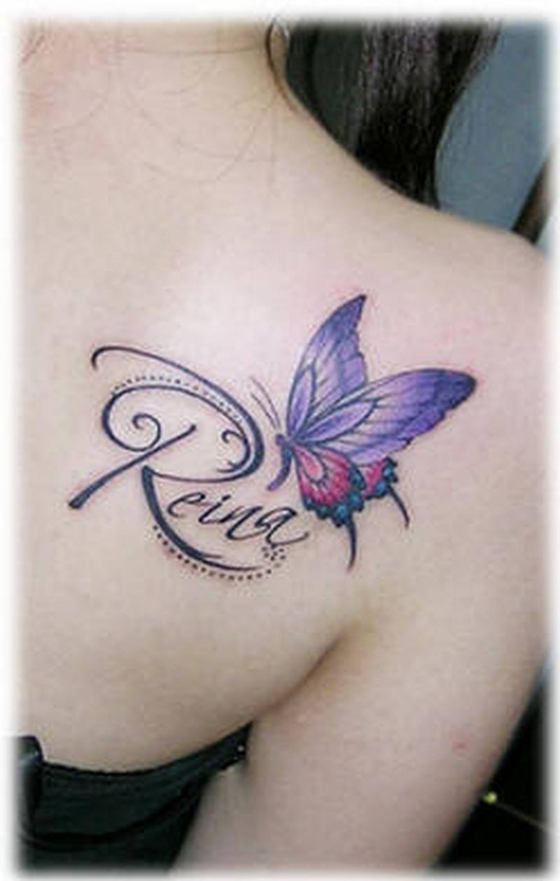 Butterfly Tattoo On Shoulder Back For Girls 2 Tattoos Book within proportions 800 X 1258