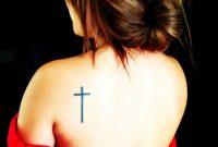 Cross Tattoo On Shoulder Blade Love It Tatt Piercing Ideas intended for size 951 X 951