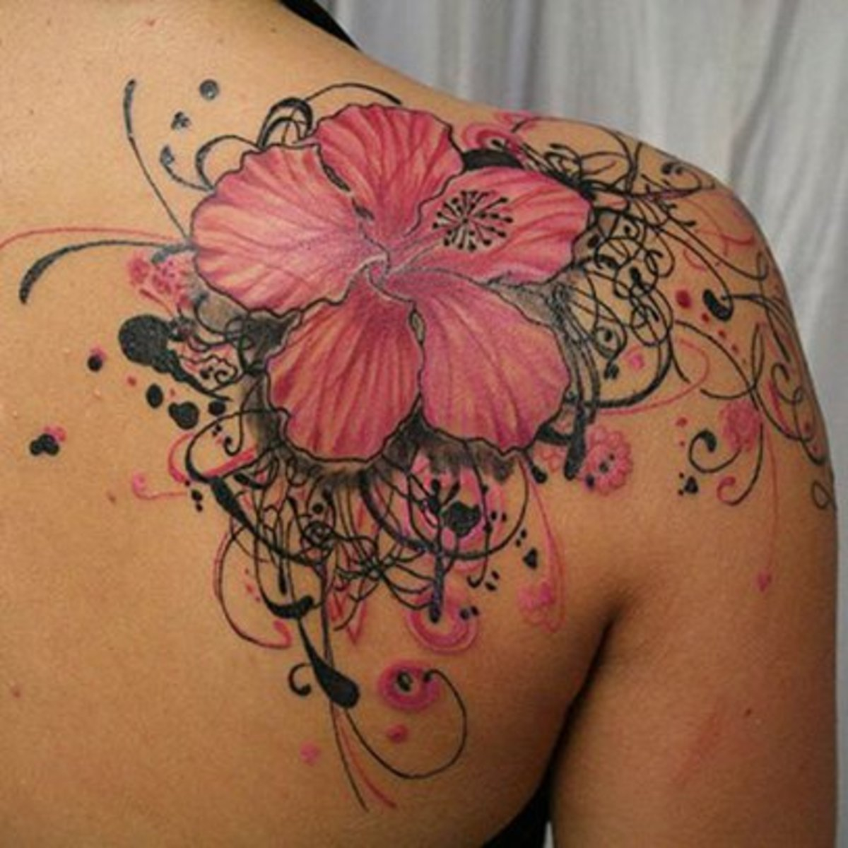 Feminine Shoulder Cap Tattoos Tattoo Ideas Artists And Models within dimensions 1200 X 1200