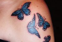 Image Result For Black Rose And Butterfly Tattoo Tattoosonneck throughout sizing 1200 X 1600