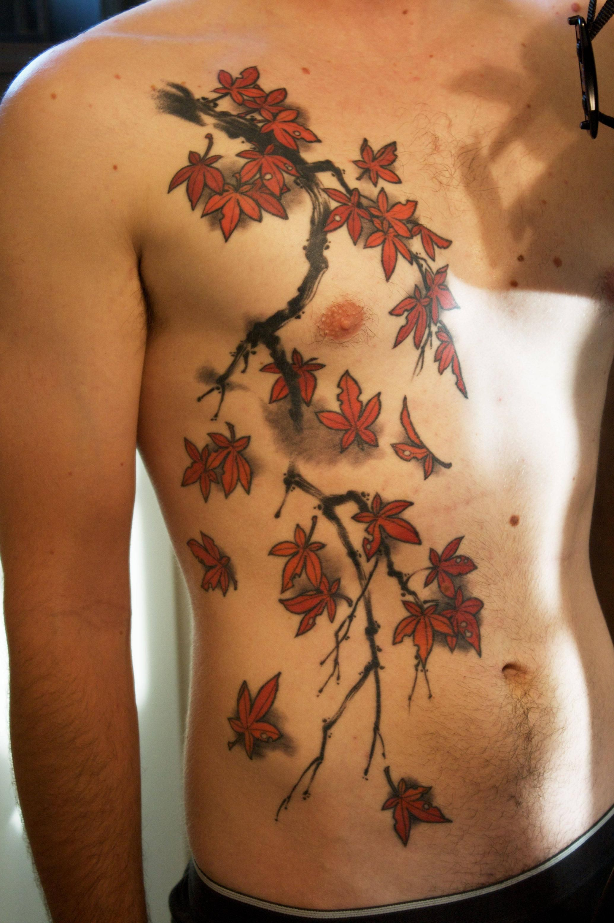 Japanese Branches Tattoo Google Search Tattoo Irezumi Tattoos intended for sizing 2070 X 3110
