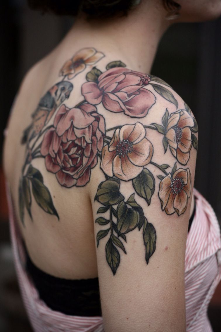 Kristenmakestattoos I Really Like The Muted Colors
