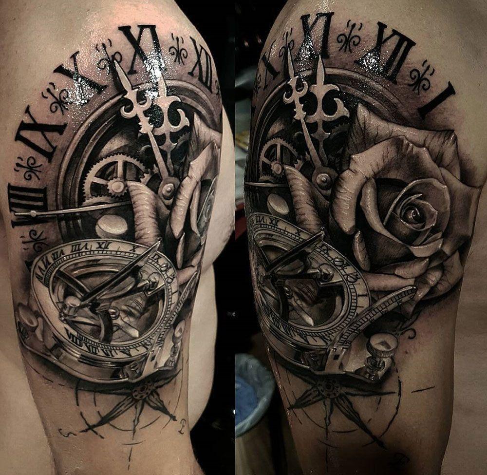 Pin Jake Tama Davison On N Tattoos Mens Shoulder Tattoo inside proportions 1000 X 975