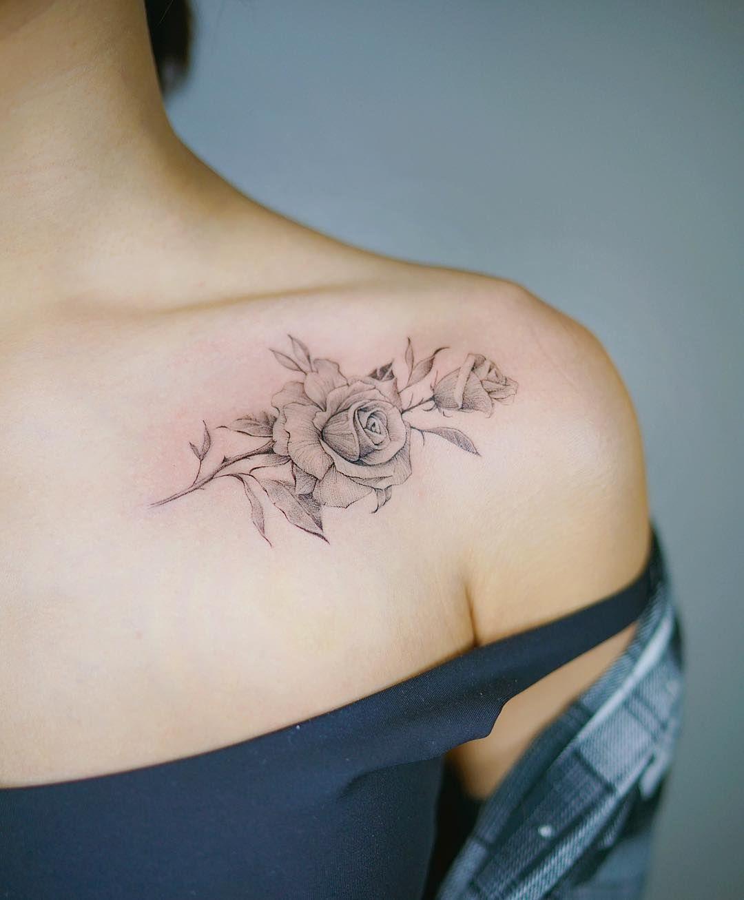 Pin Kayla Evans On Tattoo Ideas Elegant Tattoos Small Shoulder within size 1080 X 1307
