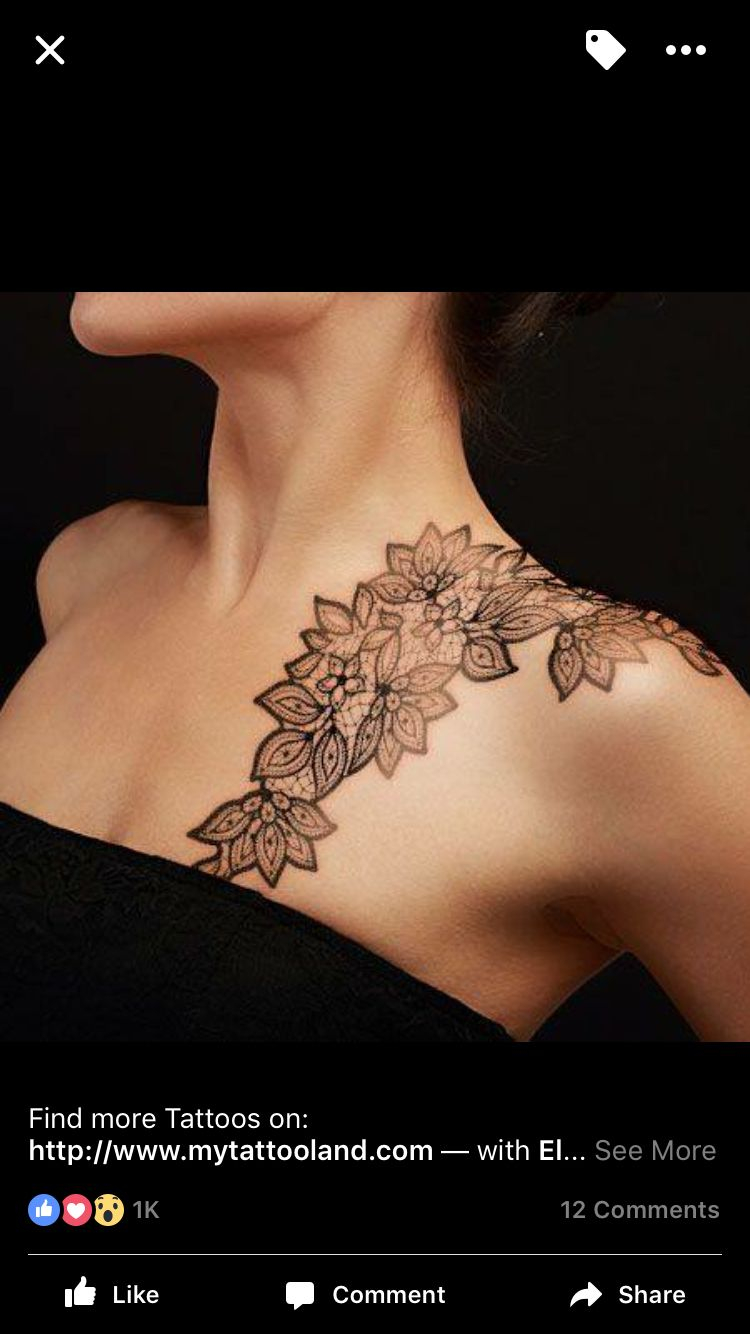 Pin Ohsillysillyme On Tated Up Lace Tattoo Elegant Tattoos for sizing 750 X 1334