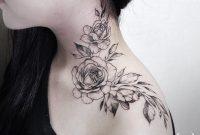 Pin Valeria On T A T T O O S Neck Tattoos Women Flower Neck regarding dimensions 1080 X 1080