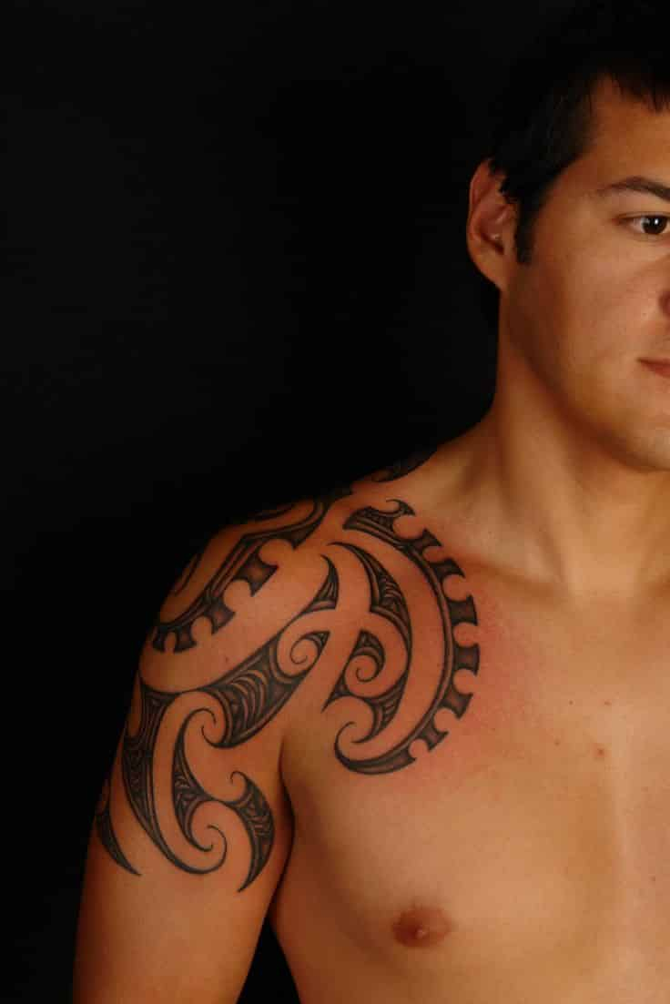 Shoulder Tattoos For Men Designs On Shoulder For Guys throughout dimensions 736 X 1103