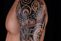 Shoulder Tattoos For Men Mens Shoulder Tattoo Ideas With Tattoo On inside size 782 X 1024