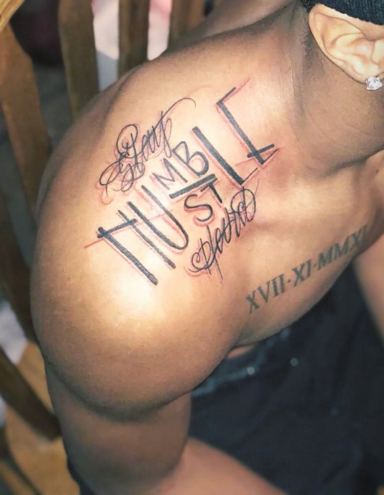 Stay Humblest Hard Tattoo Tatted Tattoos Tattoos For Guys inside proportions 1242 X 1598