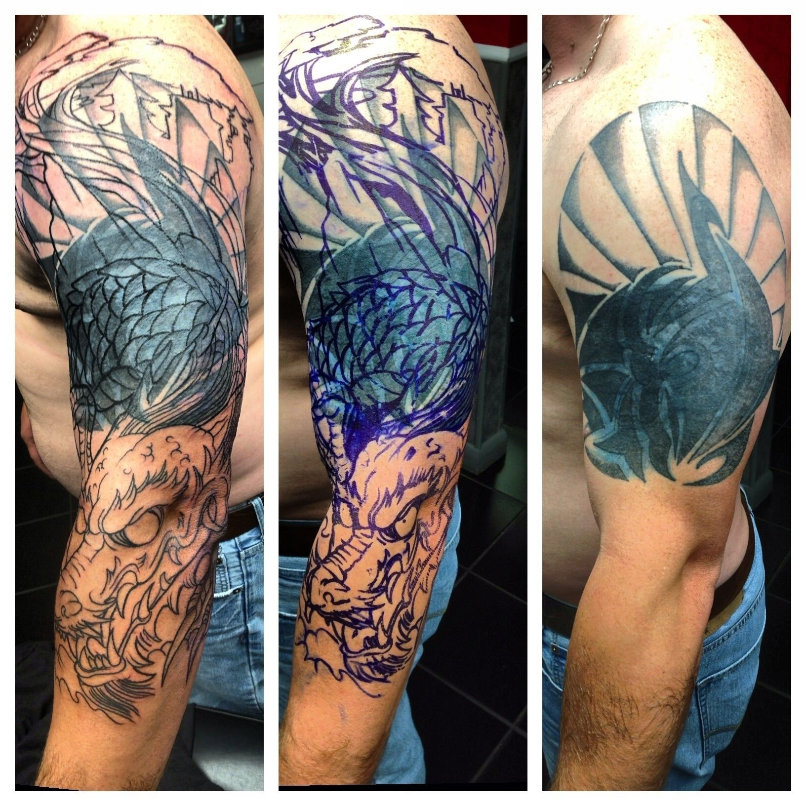 Tattoo Cover Up Ideas For Men Top Tribal Tattoo Cover Up Ideas with regard to measurements 1632 X 1632