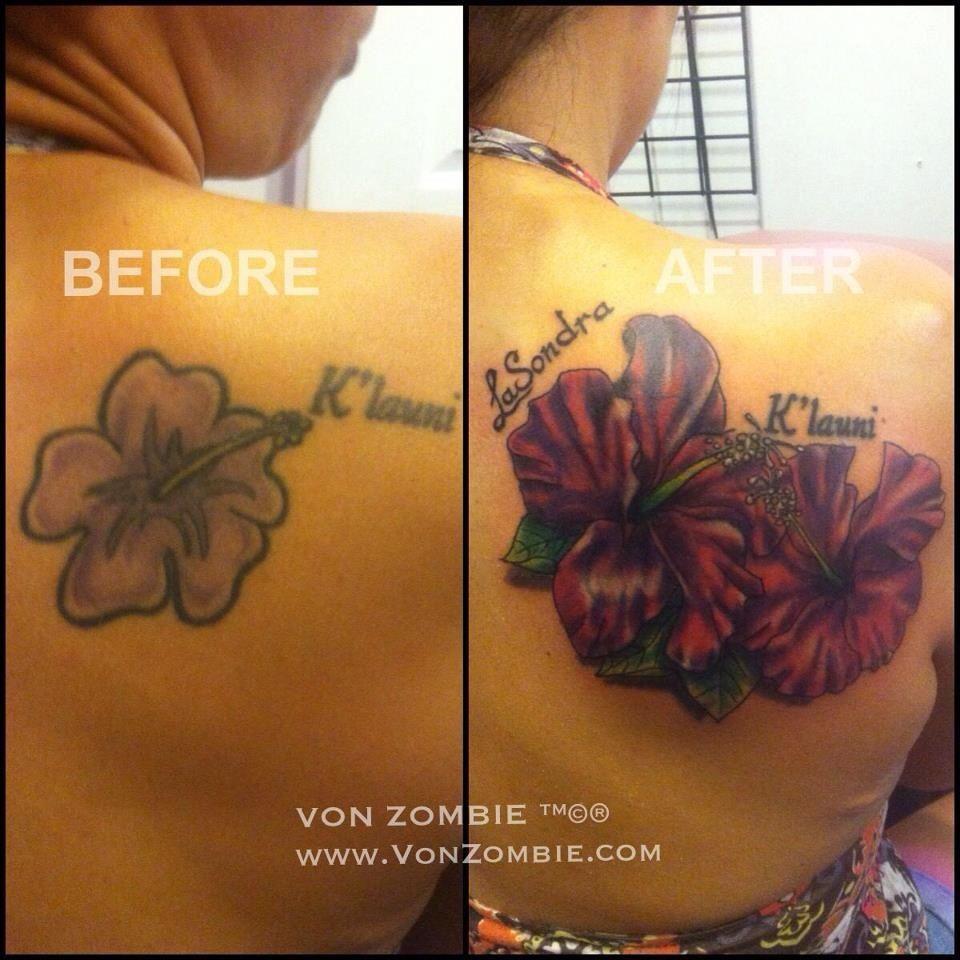 Tattoo Cover Up Shoulder Blade Jarris Vonzombie Wwwvonzombie for size 960 X 960