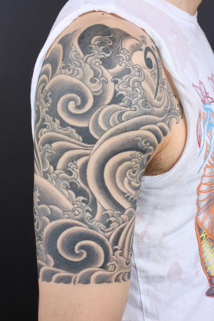 The 80 Best Half Sleeve Tattoos For Men Improb with measurements 736 X 1104