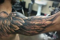 The 80 Best Shoulder Tattoos For Men Improb with measurements 1080 X 748