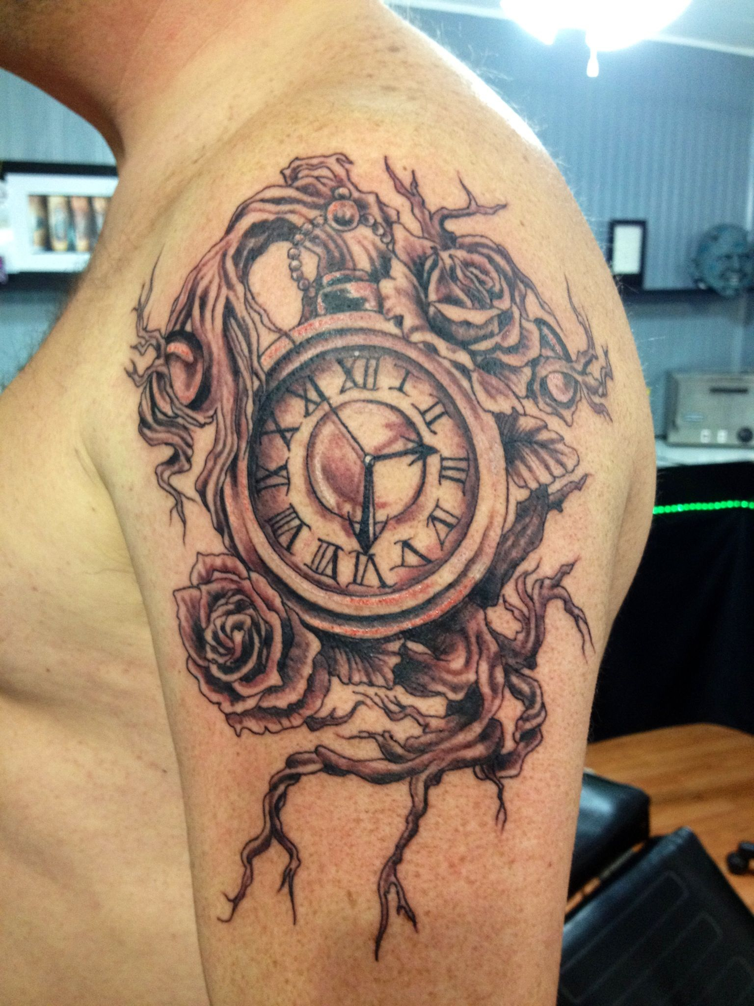 Time Tattoo Just Want The Watch Out Of It Time For Another in proportions 1536 X 2048