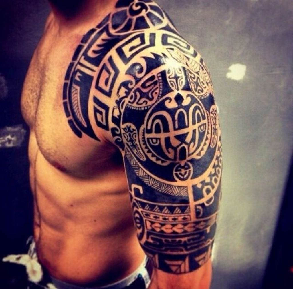 Top 50 Best Shoulder Tattoos For Men Next Luxury With Regard To throughout dimensions 1024 X 1012